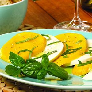 Mango Caprese Salad   Recipes   Pinterest
