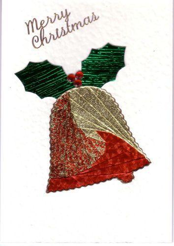 Iris Folding Christmas Card Vicki | iris folding | Pinterest