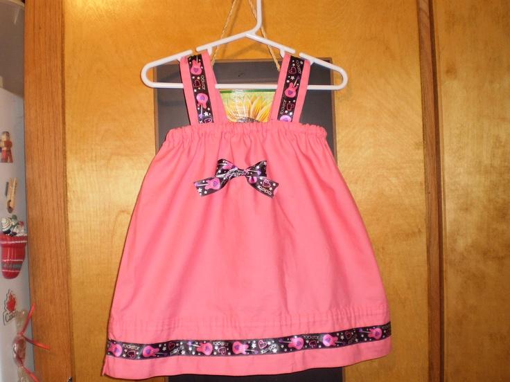 Rock star pillowcase dress Sewing Ideas Pinterest