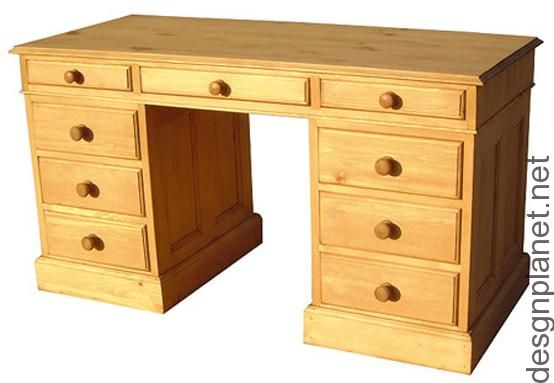 pine computer desk | Home Decorations | desgnplanet.net | Pinterest
