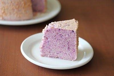 Purple Yam (ube) chiffon cake. | Sweet Tooth! | Pinterest