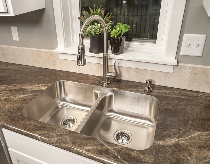 Double Bowl Undermount Kitchen Sink The Thoroughbred Pinterest