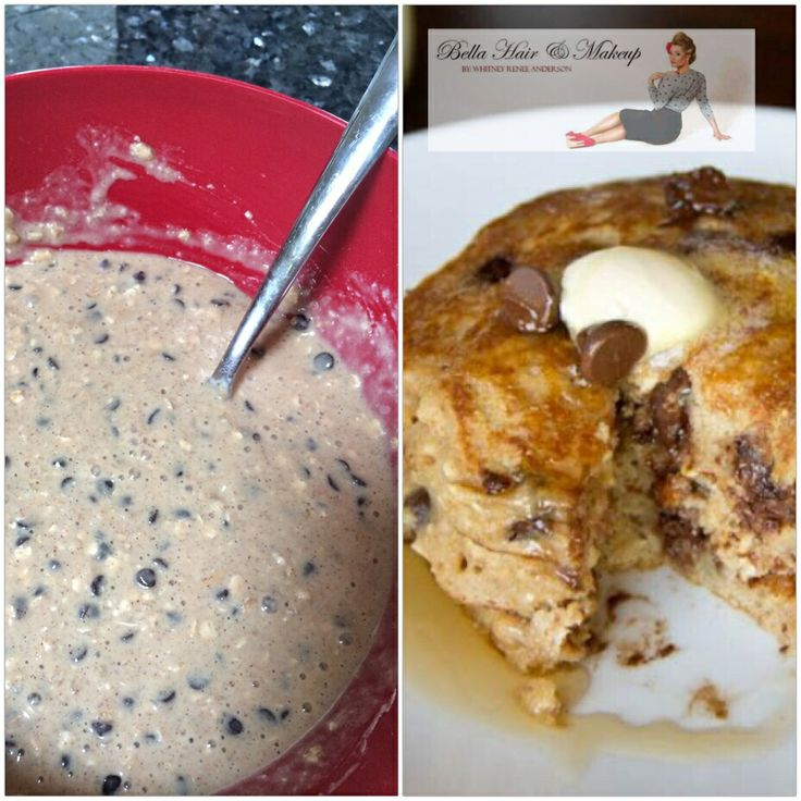 Chocolate chip oatmeal pancakes | Barefoot Whit in the Kitchen | Pint ...