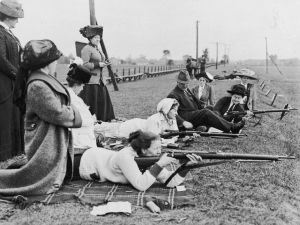 Hundreds of Toronto women learned military drills to defend the home front during WWI. Decades before they were allowed in the army, when tending wounded soldiers was as close as they got to the front lines, hundreds of Canadian women picked up arms.