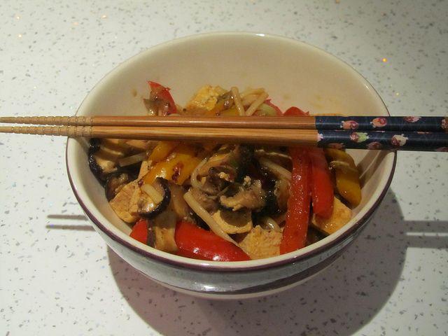 Stir-fried Tofu with Udon Noodles | Ramen, Udon, Soba, Mee & Noodles ...
