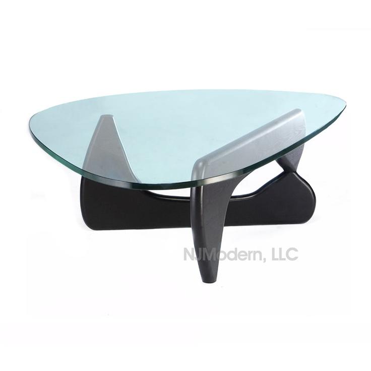 Noguchi Glass Coffee Table Apartment Pinterest