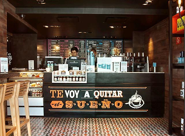 Coffee shop so cute food truck ideas pinterest - Machine a cafe design ...