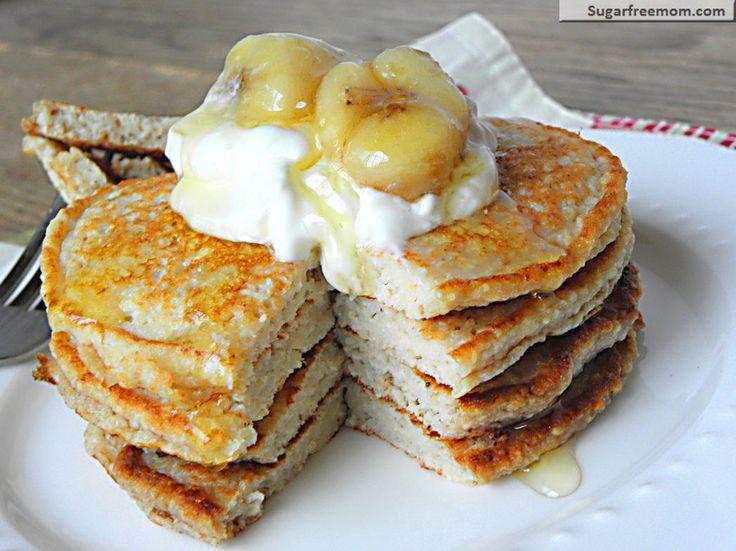 Banana Oat Protein Pancakes: [Gluten Free] & 10 Christmas Breakfast R ...