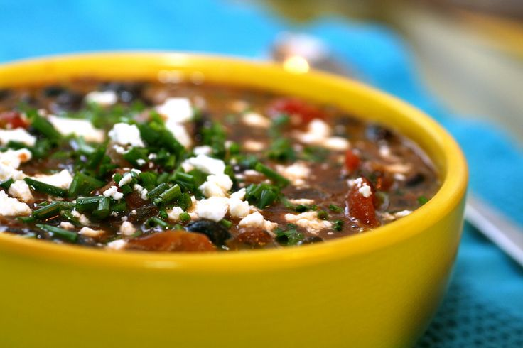 black bean soup | Recipes | Pinterest