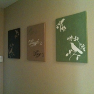 diy canvas wall art it 39 s not perfect but it 39 s mine literally