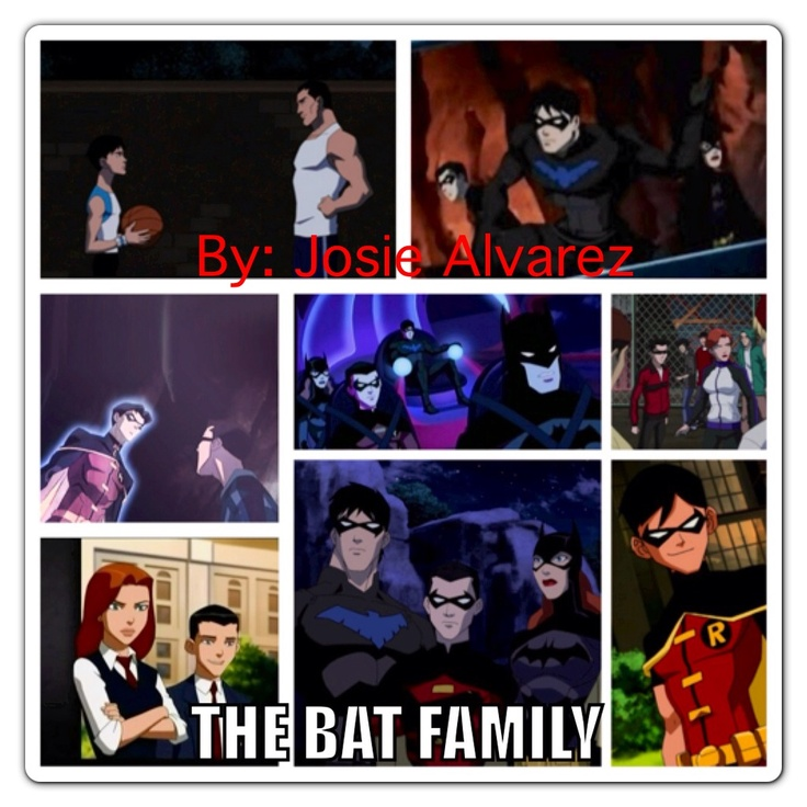 bat familyYoung Justice Bat Family