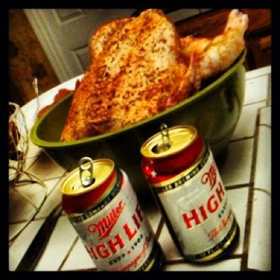 Hickory smoked beer can chicken | Grilled or Smoked | Pinterest
