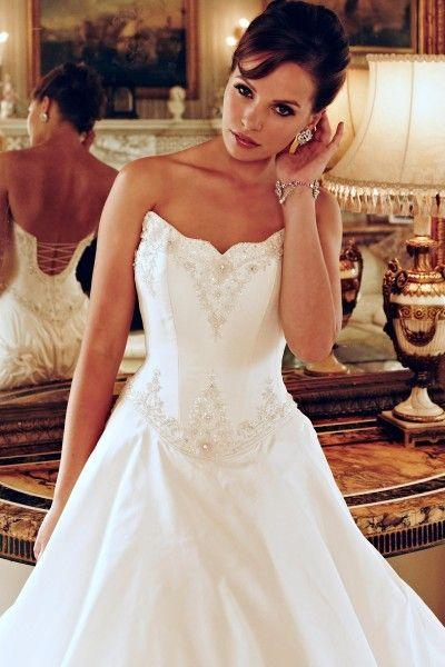 Hollywood Dreams, strapless wedding dress - Find Your Dream Wedding Dress