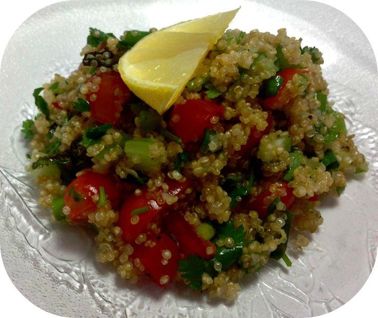 Quinoa Tabbouleh | Quinoa Recipes | Pinterest