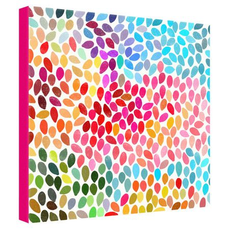 Garima dhawan rain canvas wall art on daily sales!