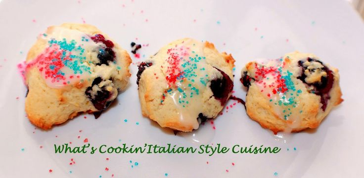 What's Cookin' Italian Style Cuisine: Blueberry Drop Cookie Recipe