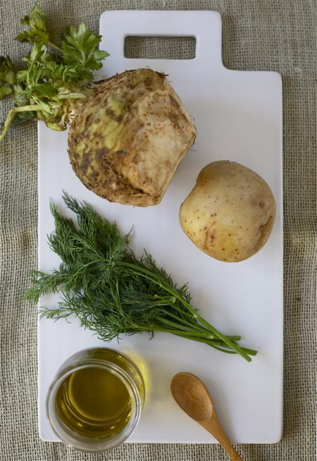 Celery root and dill mash | Delicious! | Pinterest