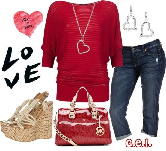 valentine's day outfit for cold weather