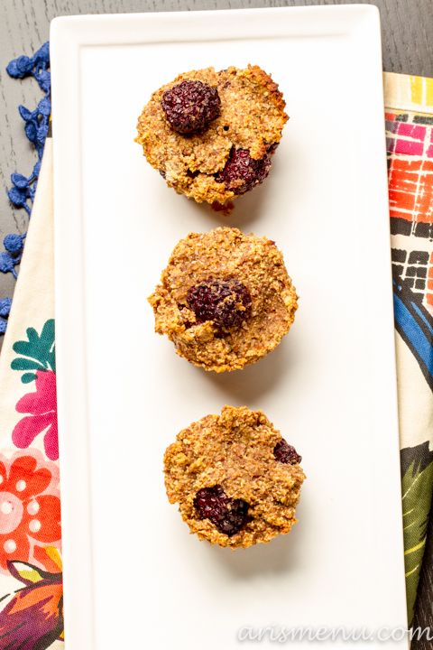 Blackberry Almond Meal Muffins ~ We made a coconut chocolate chunk ...