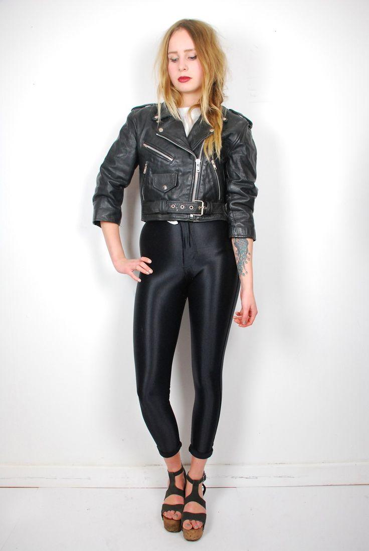 Retro Leather Biker Jacket