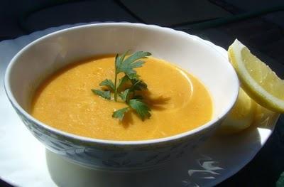 Armenian Apricot Lentil Soup is our favorite lentil soup recipe. We ...