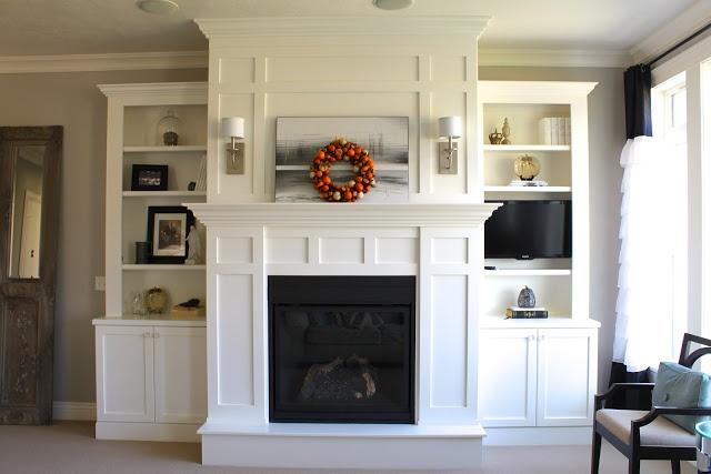 amys casablanca fireplace built ins fireplaces