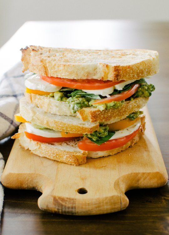Lunch Recipe: Mozzacado Sandwich — Recipes from The Kitchn