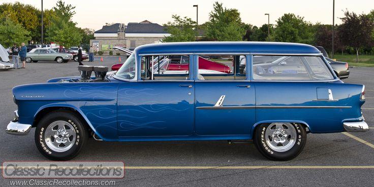 1955 chevy 4 door wagon ron 39 s cars pinterest for 1955 chevy 4 door wagon