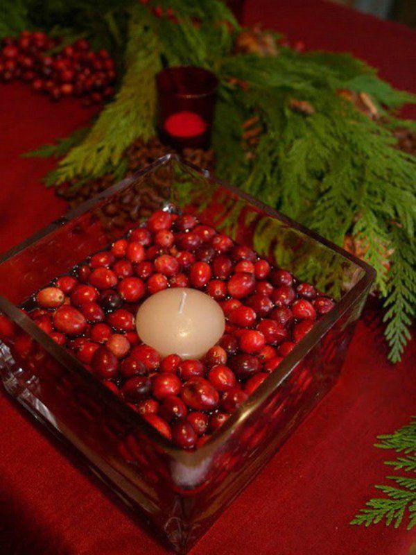 Ягоды в новогоднем декоре. Комментарии : LiveInternet - Российский Сервис Онлайн-Дневников