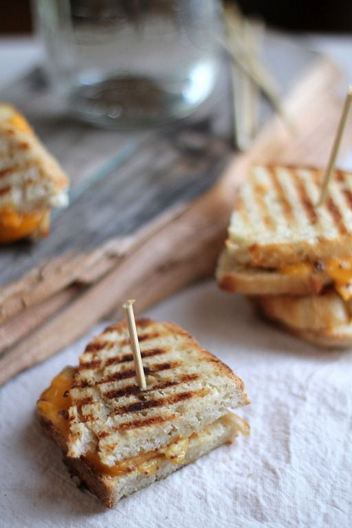 grilled cheese sandwiches