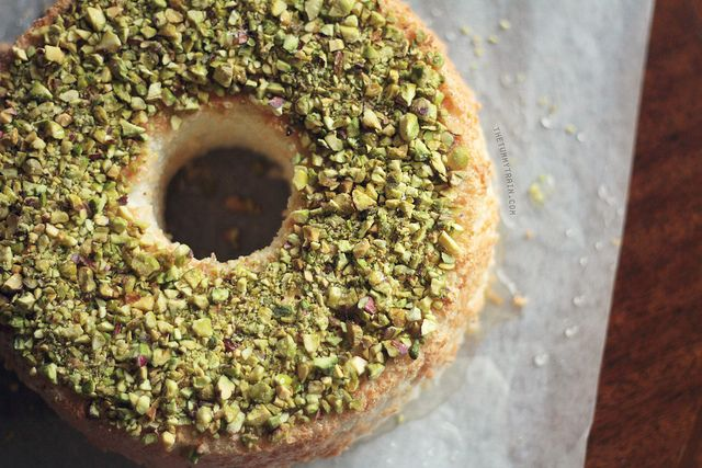 This Lime and Pistachio Angel Food Cake will have you hearing sweet ...