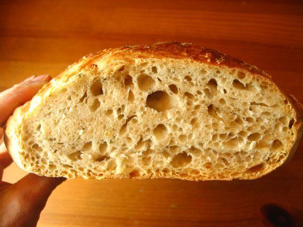 Rosemary Lemon No-Knead Bread | Bake it up. | Pinterest