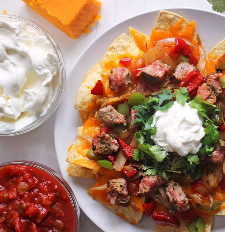 Steak Fajita Nachos | Food & Drink | Pinterest