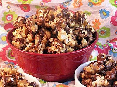 Reeses Popcorn | food | Pinterest