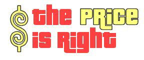 the price is right printable logo