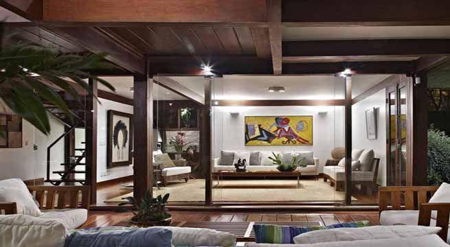 Decoraci n con techos de madera decoraci n hogar pinterest - Decoracion para techos ...