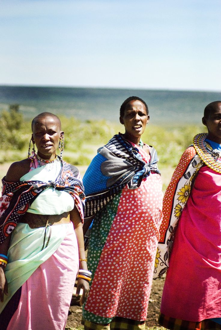 Kenya-masai women #travel
