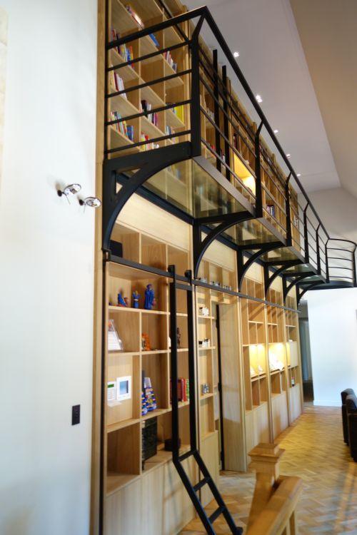 Pin by vri interieur landelijk wonen on boekenkast pinterest - Interieur bibliotheek ...