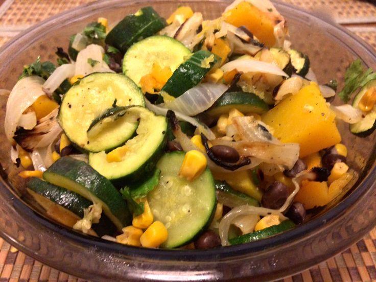 roasted vegetable enchiladas | Food - Roasted vegetables | Pinterest