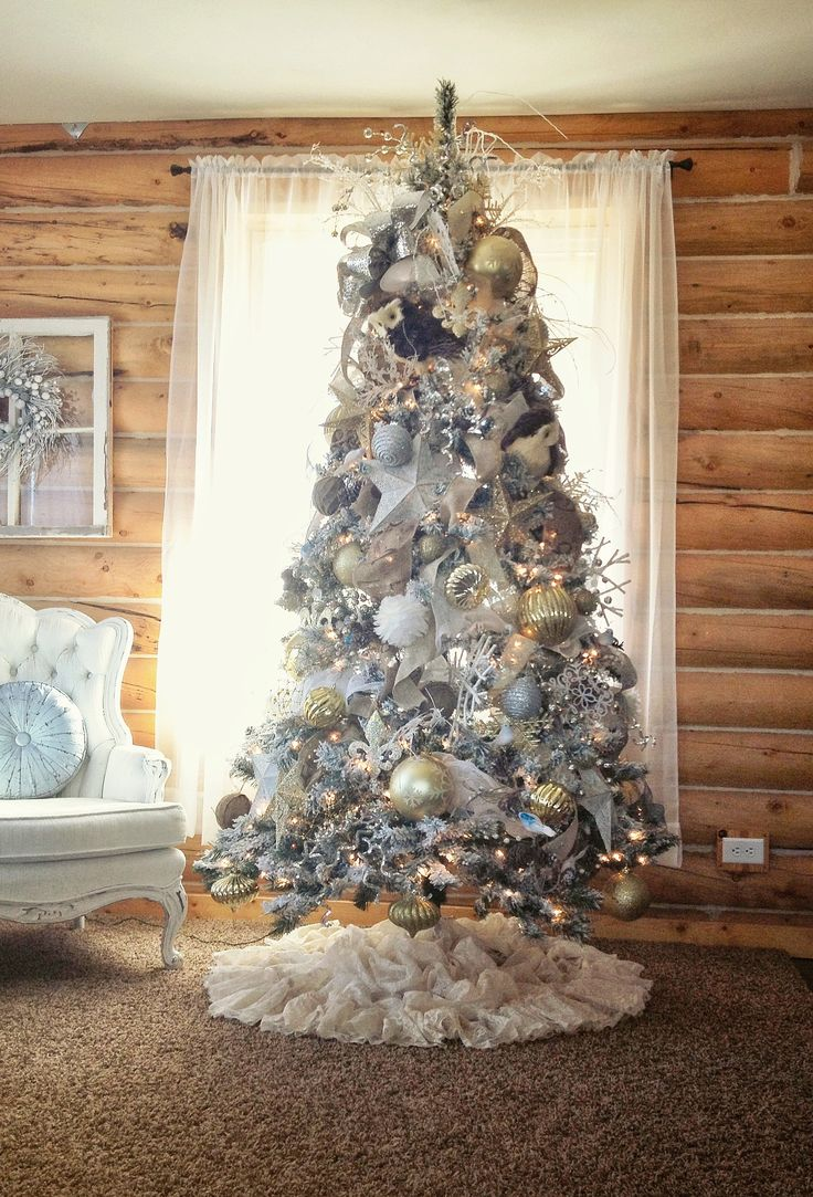 Shabby chic christmas tree christmas pinterest - Decorazioni natalizie stile shabby chic ...
