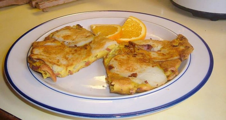 Spanish Potato Omelette | World Vegan Feast | Pinterest