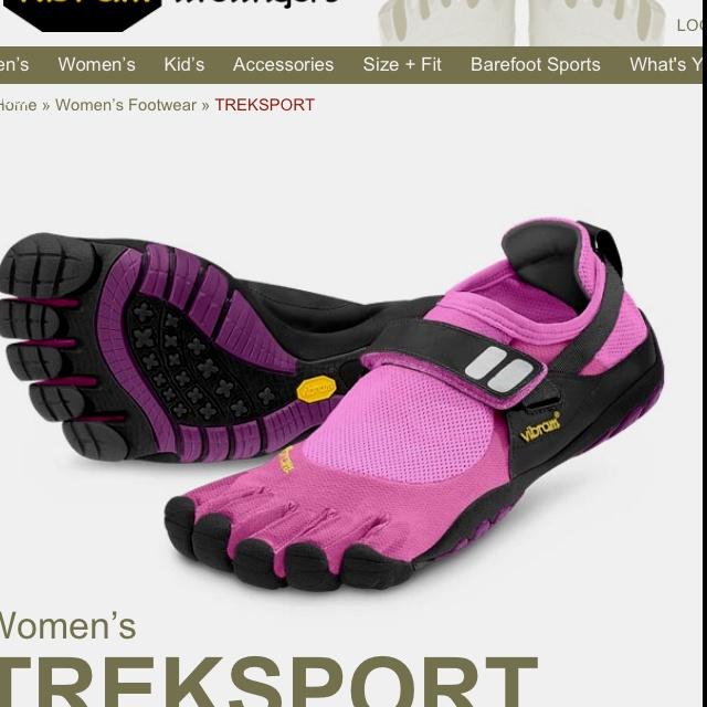 Vibram Five Finger shoes