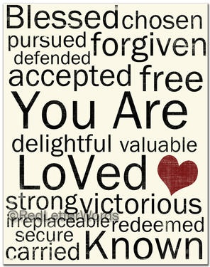 Red Letter Words | Scripture/Sayings | Pinterest