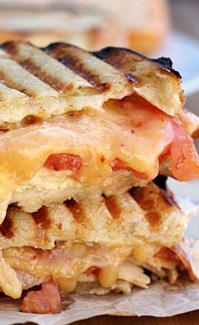 Chicken Bacon Ranch Panini Recipe — Dishmaps