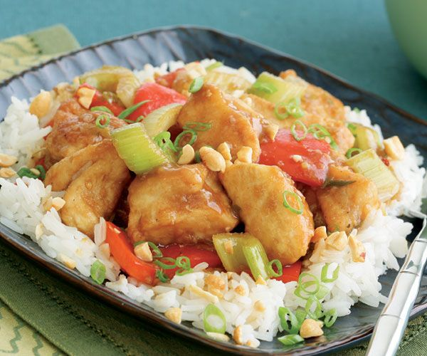 Kung Pao Chicken Recipe - this is one of my favorite go-to recipes