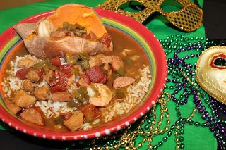 The Cookbook Project: Mardi Gras Gumbo | Savory Dishes | Pinterest