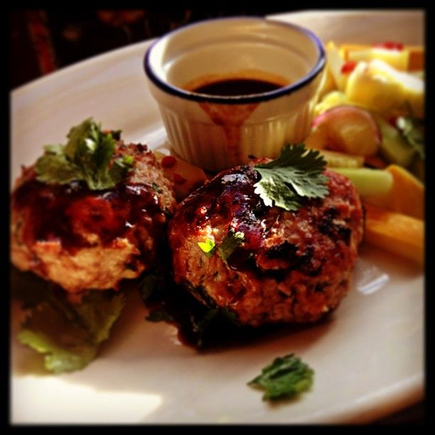 Grilled Middle Eastern Turkey Burgers Recipes — Dishmaps