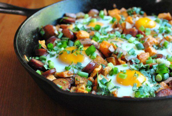 sausage and sweet potato hash | Eats! | Pinterest