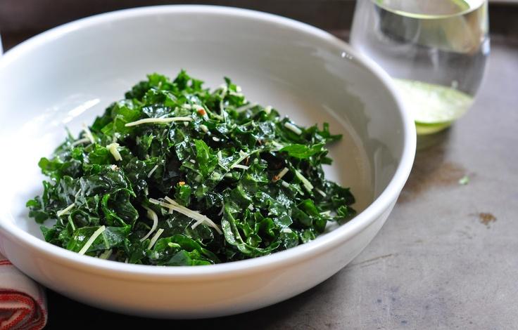 lacinato kale salad | Marin Mama Cooks | salad | Pinterest