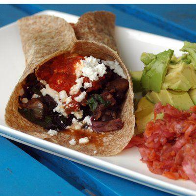 ... spicy potato n black bean burritos spicy bean and sweet potato
